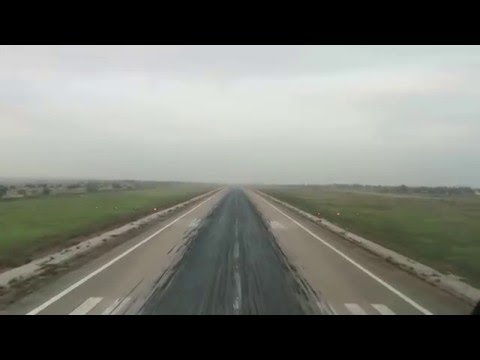 COCKPIT VIEW OF APPROACH AND LANDING AT LUANDA (ANGOLA) AIRPORT
