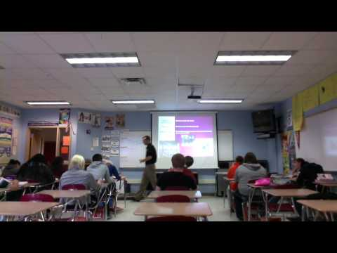 Mr. Gordon McKavanagh - Classroom Lesson on End of World War I (Period 5)