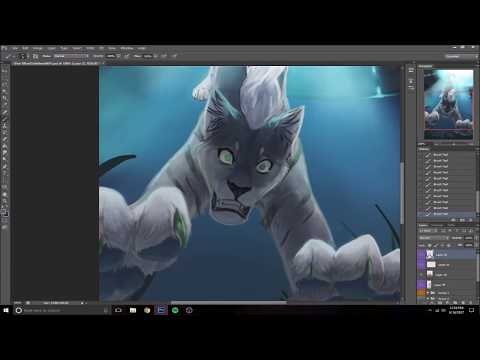 I Don't Want To Believe – Speed Paint (Photoshop)