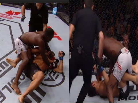 WELL DAMN! Derek Brunson KO's Lyoto Machida Then Calls Out Luke Rockhold at UFC Sao Paulo!