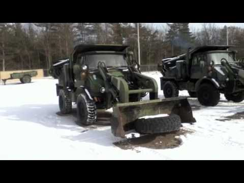 Unimog For Sale >> 1988 Unimog Freightliner FLU419 Industrial Tractor on GovLiquidation.com - YouTube