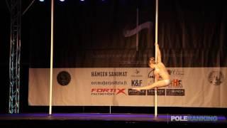 Annika Alanko - Finnish Pole Dance Championships 2017
