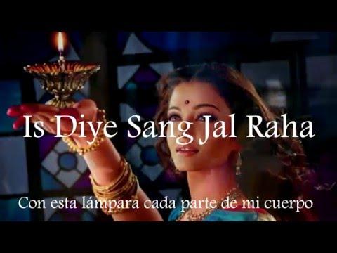 Silsila Ye Chaahat Ka - Devdas / Hindi lyrics - Subtítulos en español