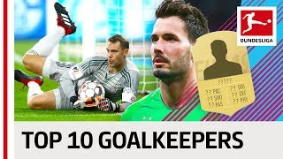 Neuer, Bürki, Sommer & More - EA SPORTS FIFA 19 - Top 10 Goalkeepers