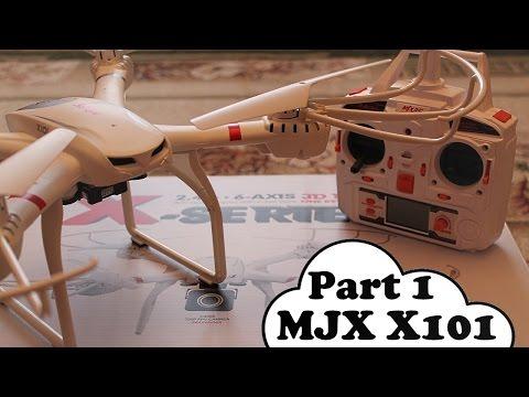 Обзор MJX X101 (Дешевый FPV-квадрокоптер) Часть 1 [Banggood]