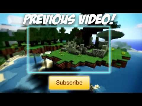 Free Minecraft Themed Outro (Download In Description)