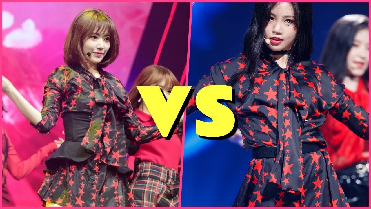 Who Wore It Better IZONE's Sakura Or (G)I-DLE's SooJin?