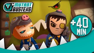 MUTANT BUSTERS / 40' EPISODIOS COMPLETOS
