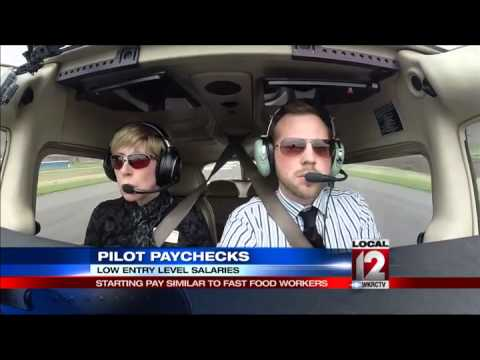 Pilot starting pay similar to fast food workers