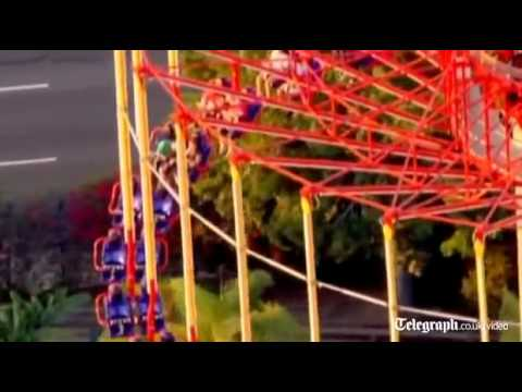 Windseeker Stuck For Hours In Air - Knotts Berry Farm ...