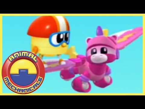 🐸🤖 Animal Mechanicals 🐸🤖 HOUR! Season 2 COMPILATION Full Episode 🐸🤖 Cartoons for Children 🐸🤖