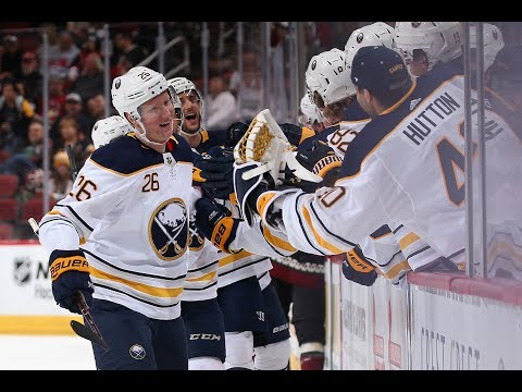 Postgame Analysis: Rasmus Dahlin Puts on a Show vs Coyotes  Buffalo Sabres  MSG Networks