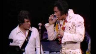 elvis presley intruduce his band in aloha from hawaii 1973