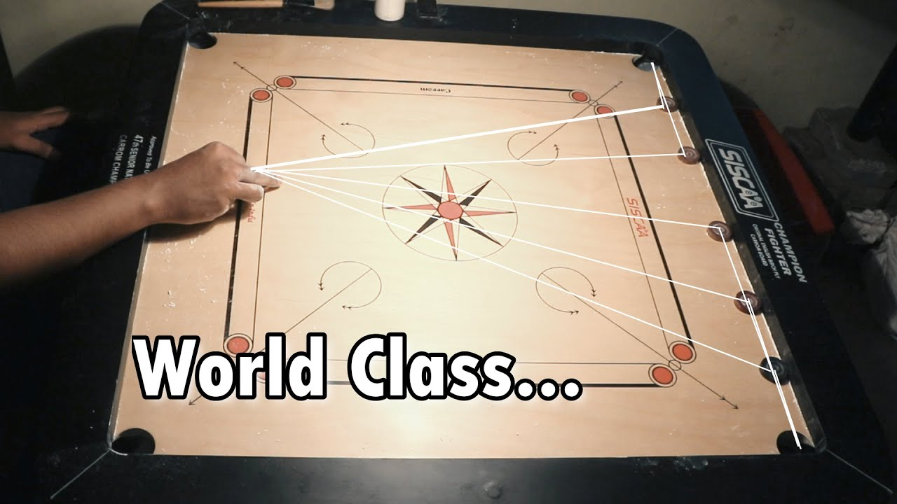 Worlds Best Carrom Board Video | No One Can do it |