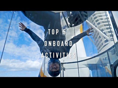 Royal Caribbean Top 5: Onboard Activities