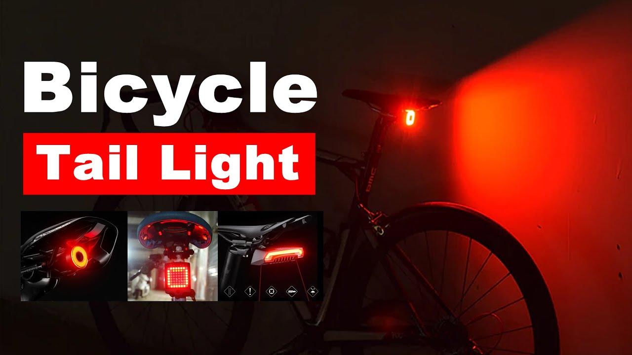 Rockbros Smart Bicycle Bike Rear Light Auto Start//Stop Brake Sensing Light Ipx6