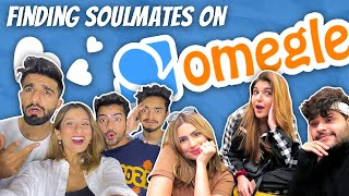 FINDING SOULMATES ON OMEGLE 👩‍❤️‍💋‍👨 | DAMNFAM |