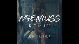What's Ya Name - Ngeniuss Remix (ROMderful) | Solarshot Music Sundays #7 | The Wall