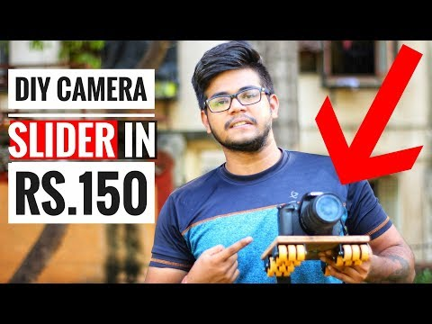 Cheapest DIY Camera Slider (Desi Jugaad)