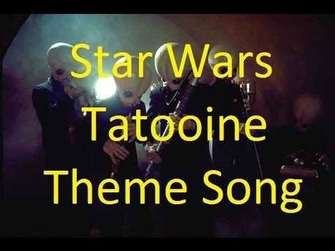 Star Wars Tatooine Bar Theme song