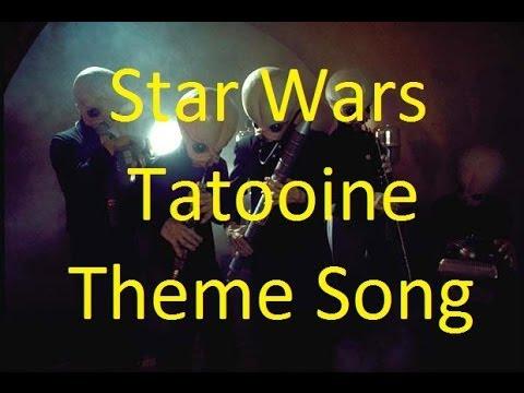 Star Wars Tatooine Bar Theme song