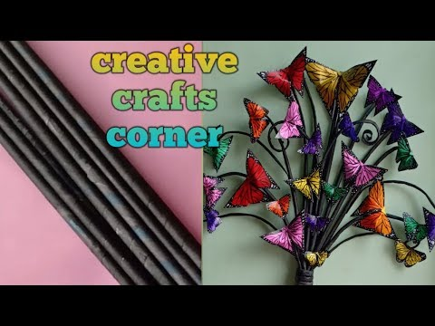 Butterfly wall decor part-2/paper craft