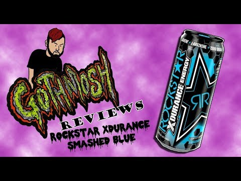 Rockstar XDURANCE smashed blue Review