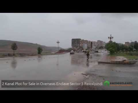 IDEALLY LOCATED 2 KANAL PLOT FOR SALE IN BAHRIA OVERSEAS ENCLAVE – SECTOR 3 RAWALPINDI