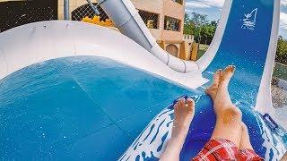 "BOOMERANG Water Slide ""Speedy"" | Le Vele Acquapark"