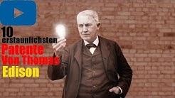 Die 10 erstaunlichsten Patente von Thomas Edison -BrosTV