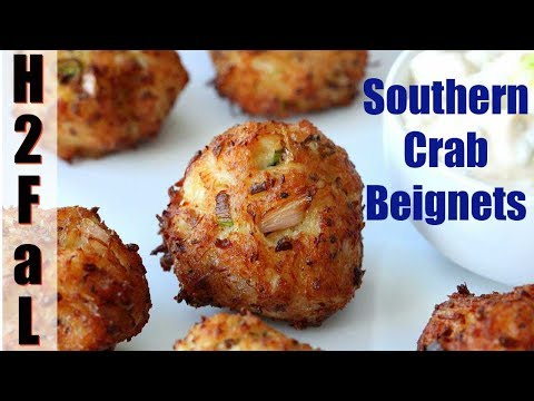 Cajun Cuisine | SOUTHERN CRAB BEIGNETS | How To Feed A Loon
