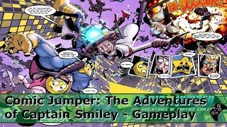 Comic Jumper: The Adventures of Captain Smiley - Xbox 360/Retro
