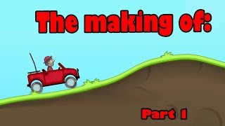 AI Learns to play Hill Climb Racing || Part 1 Making the Game