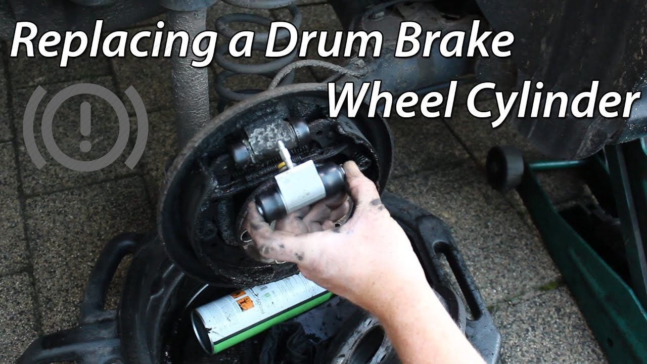 Car Brake Pads >> How To Wheel Cylinder Replacement (Drum Brakes) - YouTube