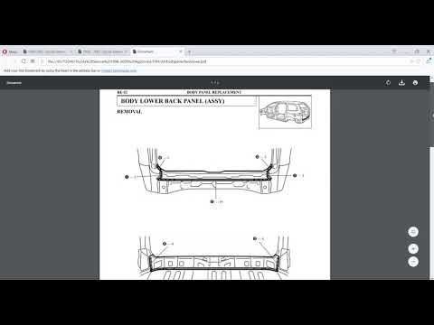 Free Download 1998 - 2003 Toyota Sienna Factory Service Manual