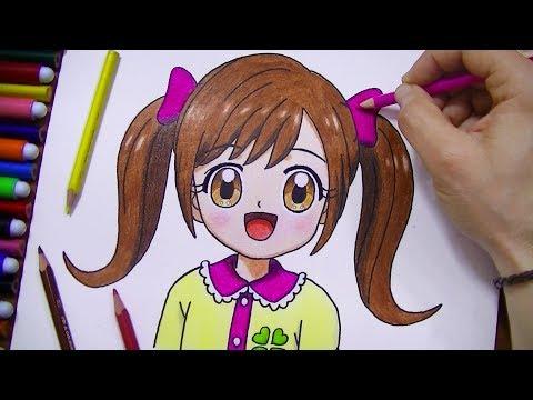 رسم نسمة من الانمي المحبوب كوكوتاما | تعلم واستمتع مع متعة الرسم
