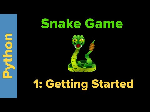 Python Game Programming Tutorial: Snake Game Part 1
