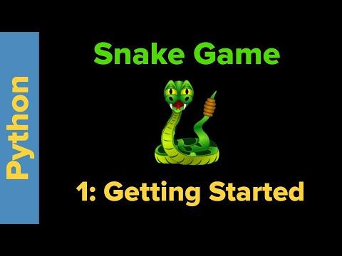Python Game Programming Tutorial: Snake/Wormy Game Part 1