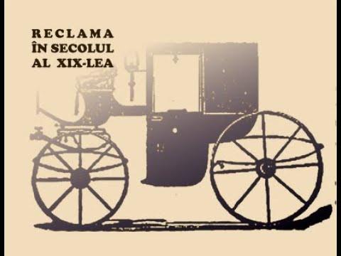 Reclama în secolul al XIX-lea - vernisaj online