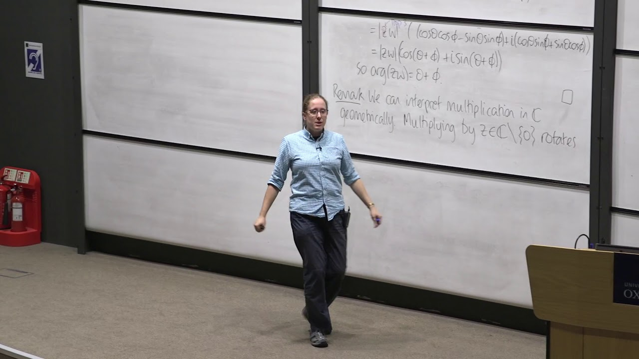 Oxford Mathematics 1st Year Student Lecture: An Introduction to Complex  Numbers - Vicky Neale