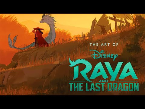 The Art of Raya and the Last Dragon – Quick Flip Through Preview Unboxing
