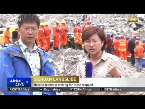 Sichuan Landslide: How the landslide destroyed Xinmo village