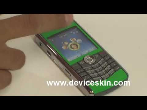 Blackberry Pearl 8110 Skins SEE how to add a new look to your phone