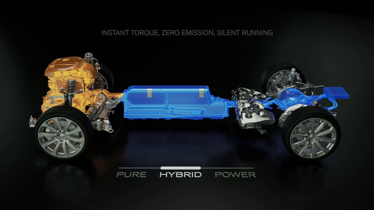Volvo XC90 T8 Twin Engine AWD animation