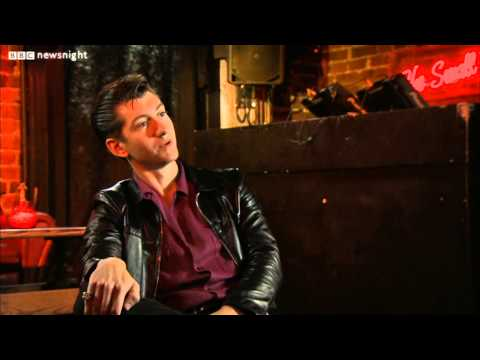 NEWSNIGHT: Arctic Monkeys' Alex Turner on Jeremy Paxman's beard