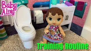 Baby Alive Morning Routine And Training