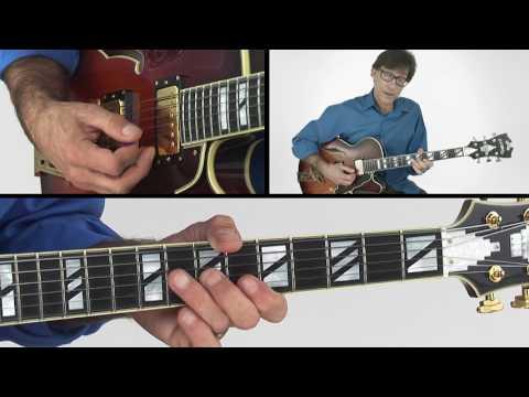 30 Jazz Rhythms - #9 Voice Leading Blues - Guitar Lesson - Frank Vignola