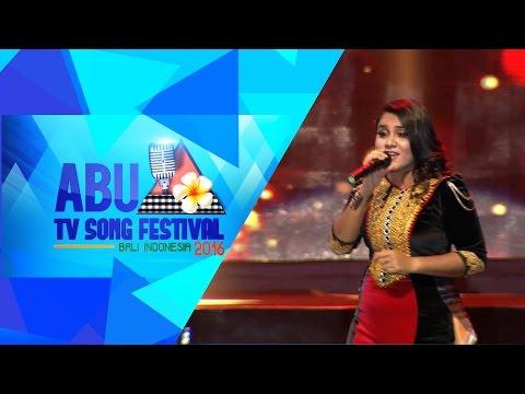 ABU TV Song Festival 2016 : Magey Rah (My Island) - Laisha Junaid (Maldives)