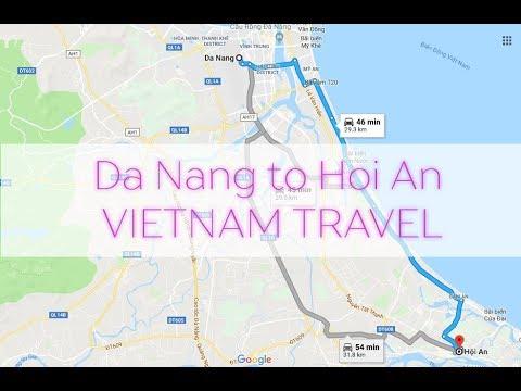 Da Nang to Hoi An by Motorbike. Vietnam Travel