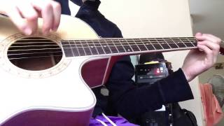 Laputa guitar(W-414on) demo by tak ...